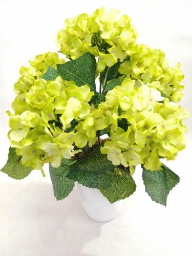 Hortensja Zielona Bukiet Bez Doniczki 22961 Sztuczne Kwiaty